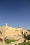 The Jerusalem Archaeological Park at the foot of Temple Mount