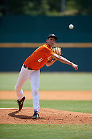 Max Debiec (18) of O'Dea High School in Seattle, WA during the Perfect Game National Showcase at Hoover Metropolitan Stadium on June 20, 2020 in Hoover, Alabama. (Mike Janes/Four Seam Images)