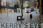 Flooding at Ballymullen on Saturday