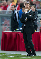 23 April 2011: Columbus Crew head coach Robert Warzycha during an MLS game between the Columbus Crew and the Toronto FC at BMO Field in Toronto, Ontario Canada..The game ended in a 1-1 draw.