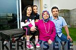The Askar Family, Crystal Fountain, Tralee l-r Fatma Askar, Mohamed Askar, Omnia Askar, Yasser Askar