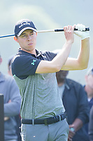 Matthew Fitzpatrick (ENG) In action during the third round of the The Genesis Invitational, Riviera Country Club, Pacific Palisades, Los Angeles, USA. 14/02/2020<br /> Picture: Golffile | Phil Inglis<br /> <br /> <br /> All photo usage must carry mandatory copyright credit (© Golffile | Phil Inglis)