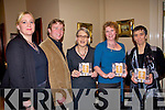 Pictured at the Food Fair at the Listowel Arms Hotel on saturday night were Stacy Williams, Listowel Food Fair, Darina Allen, Michael McAllen, Hermione Winters and Kate Carmody.    Copyright Kerry's Eye 2008