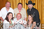CD: Mike Condon from Ballyduff launched his new CD Cottage by the Sea at Ballygarry House Hotel & Spa, Tralee, on Thursday night. At the launch his CD were, front l-r: Caroline Condon and Amanda Casey. Back l-r: Dermot Moriarty (Radio Kerry Country Sounds), Marty Daniels (guest Country & Western singer) and Roger O'Sullivan..
