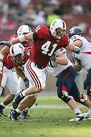 14 October 2006: Tom McAndrew during Stanford's 20-7 loss to Arizona during Homecoming at Stanford Stadium in Stanford, CA.