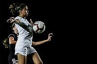FORT MYERS, FL, 15.10.2018 – FGCU-WEBBER – Jogadora Tori Dorr da FGCU, durante partida válida pela temporada 2018 da NCAA, no Estádio da FGCU Soccer Complex, na noite desta segunda-feira (15). (Foto: Jayson Braga / Brazil Photo Press)