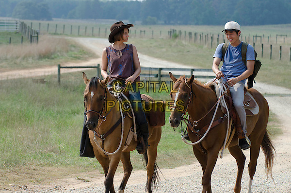 "Lauren Cohan & Steven Yeun.in The Walking Dead (Season 2, Episode 4 ""Cherokee Rose"").*Filmstill - Editorial Use Only*.CAP/NFS.Supplied by Capital Pictures."
