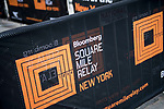 Runners compete during the Bloomberg Square Mile Relay race across New York City 's Financial District on 15 March 2017 in New York, United States. Photo by Victor Fraile / Power Sport Images
