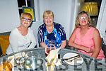 Mary Higgins, Geraldine Murphy and Siobhan Keane enjoying the evening in Bella Bia on Saturday.