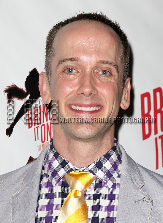 Jeff Whitty.attending the Broadway Opening Night Performance of 'Bring it On The Musical' at the St. James Theatre in New York City on 8/1/2012 © Walter McBride / WM Photography
