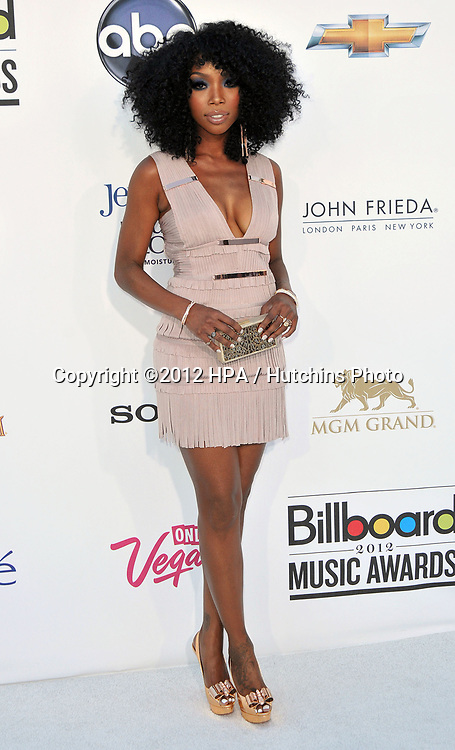 LAS VEGAS - MAY 20:  Brandi at the 2012 Billboard Music Awards at the MGM Grand Garden Arena on May 20, 2012 in Las Vegas, NV