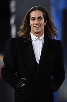 Damiano David singer leader  Maneskin<br /> Roma 5-1-2020 Stadio Olimpico <br /> Football Serie A 2019/2020 <br /> AS Roma - Torino FC <br /> Foto Antonietta Baldassarre / Insidefoto