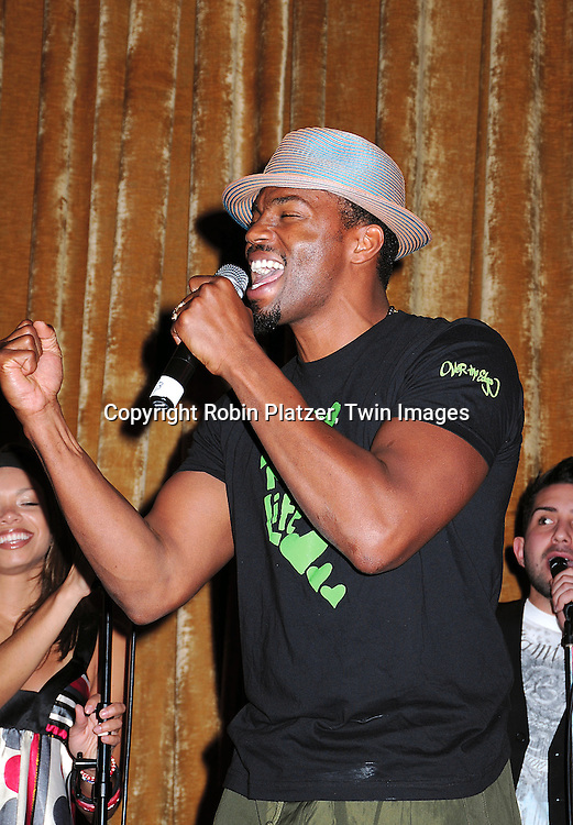 Tobias Truvillion, of One Life to Live, ..at The Love Oure Children USA National Love Our Children Day on April 5, 2008 at Spotlight Live in New York City which was hosted by Cameron Mathison. ....Robin Platzer, Twin Images