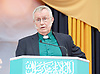 Church of England representative leads a prayer at the Baitul Futuh Mosque, at an event to commemorate the establishment of The Ahmadiyya Caliphate, a non-political caliphate established on May 27, 1908. &nbsp;<br /> <br /> Following on from the tragic events in Manchester, Ed discussed the events in Manchester and reasserted the importance of traditional liberal values in defeating extremism.&nbsp;<br /> <br /> 27th May 2017 <br /> at the Baitul Futuh Mosque, Morden, Surrey <br /> <br /> <br /> Photograph by Elliott Franks <br /> Image licensed to Elliott Franks Photography Services