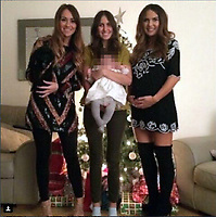 COPY BY TOM BEDFORD<br /> Pictured L-R: Charlotte, Katie and Emma Rhys Jones<br /> Re: Alexander Williams, the husband of Katie Rhys Jones, who is the sister in law of footballer Gareth Bale, has died.