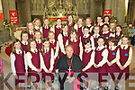 The pupils of St Josephs N.S. Cahersiveen who made their confirmation on Friday last in the O'Connell Memorial Church Cahersiveen were Fiona O'Mahony, Aoife O'Donoghue, Amy Sugrue, Bishop Murphy, Sinead O'Sullivan, Fiona McGillicuddy, Aideen Quirke, Hannah Sugrue, 2nd l-r Meabh Daly, Shaleem O'Connell, Keeley Murphy, Niamh Murphy, Aoibhinn O'Neill, Cheyenne Thompson, Kerry O'Sullivan, Karen Coffey, Katie Sugrue, back l-r Sarah O'Neill Julie O'Connell, Fausta Pudzemyte, Mairead Browne, Cathy O'Shea, Alexandria O'Sullivan, Alannah O'Sullivan, Rebecca O'Sullivan, Jane Griffin & Saidhbh Fitzgerald.