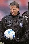 15 April 2007: Referee Andrew Chapin. The New York Red Bulls defeated FC Dallas 3-0 at Giants Stadium in East Rutherford, New Jersey in an MLS Regular Season game.