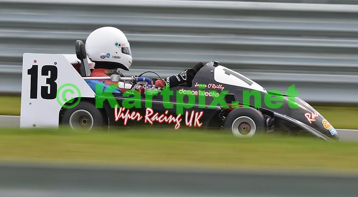 CIK-FIA 2012 European Superkart Championship.MSA British Superkart Grand Prix