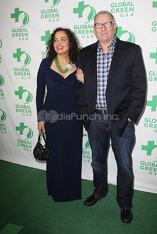 Hollywood, CA - February 22: Ed O'Neill, Catherine Rusoff, At 14th Annual Global Green Pre Oscar Party, At TAO Hollywood In California on February 22, 2017. Credit: Faye Sadou/MediaPunch