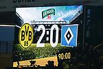 10.02.2018, Signal Iduna Park, Dortmund, GER, 1.FBL, Borussia Dortmund vs Hamburger SV, <br /> <br /> im Bild | picture shows:<br /> Anzeigetafel mit Endergebnis, <br /> <br /> <br /> Foto &copy; nordphoto / Rauch