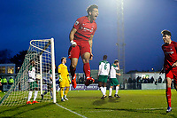 O's Macauley Bonnes scores O's 1st goal & celebrates during Bognor Regis Town vs Leyton Orient, Buildbase FA Trophy Football at Nyewood Lane on 13th January 2018
