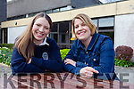 Presentation Secondary school student Katie Ahern, with her teacher Marian Cronin, who is heading to Dublin today (Thursday April 23rd) to receive the scholarship she won for her Irish Austrian Society essay.