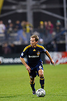 26 SEPTEMBAR 2009:  #6 Eddie Lewis of the LA Galaxy during the Los Angeles Galaxy at Columbus Crew MLS game in Columbus, Ohio on May 27, 2009. Columbus defeated LA 2-0