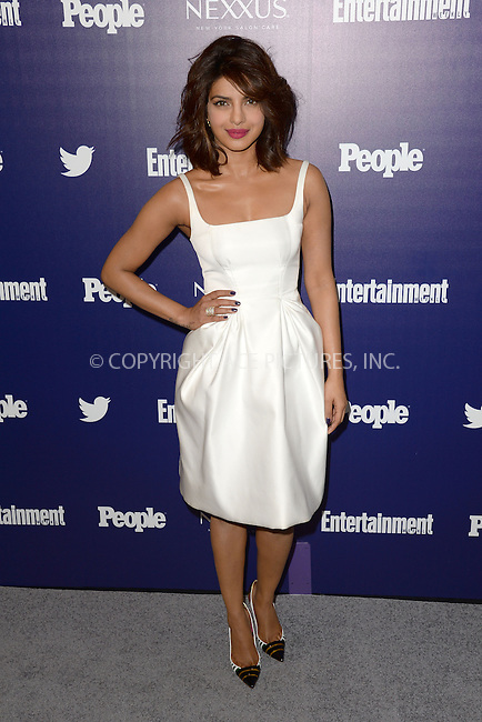 WWW.ACEPIXS.COM<br /> May 11, 2015 New York City<br /> <br /> Priyanka Chopra attending the Entertainment Weekly and People celebration of The New York Upfronts at The Highline Hotel onMay 11, 2015 in New York City.<br /> <br /> Please byline: Kristin Callahan/AcePictures<br /> <br /> Tel: (646) 769 0430<br /> e-mail: info@acepixs.com<br /> web: http://www.acepixs.com