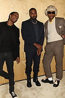 "NEW YORK, NY - NOVEMBER 6, 2019 A$AP Rocky, Kanye West & Tyler The Creator attend the Kanye West ""Follow God"" music video presentation at the Burberry Store, November 6, 2019 in New York City. <br /> CAP/MPIWG<br /> ©WG/MPI/Capital Pictures"
