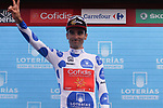 Luis Angel Mate Mardones (ESP) Cofidis retains the Polka Dot Jersey at the end of Stage 6 of the La Vuelta 2018, running 150.7km from Hu&eacute;rcal-Overa to San Javier, Mar Menor, Sierra de la Alfaguara, Andalucia, Spain. 30th August 2018.<br /> Picture: Colin Flockton | Cyclefile<br /> <br /> <br /> All photos usage must carry mandatory copyright credit (&copy; Cyclefile | Colin Flockton)