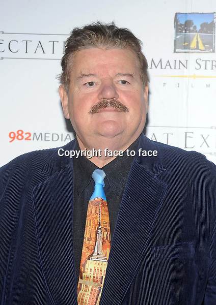 Robbie Coltrane attends premiere of Great Expectations in New York City on Novemebr 5, 2013.<br />