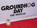 Stuffed Groundhog attends the Broadway Opening Night performance of 'Groundhog Day' at the August Wilson Theatre on April 17, 2017 in New York City