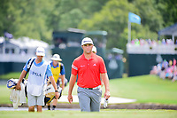 Jon Rahm (ESP) makes his way to the 17th tee during Sunday's final round of the PGA Championship at the Quail Hollow Club in Charlotte, North Carolina. 8/13/2017.<br /> Picture: Golffile | Ken Murray<br /> <br /> <br /> All photo usage must carry mandatory copyright credit (&copy; Golffile | Ken Murray)