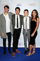 LOS ANGELES - DEC 3: Noah Centineo, David Lambert, Hayden Byerly, Maia Mitchell at The Actors Fund's Looking Ahead Awards at the Taglyan Complex on December 3, 2015 in Los Angeles, California