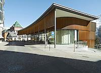 Switzerland, Engadin, St. Moritz, Center, Modern Architecture