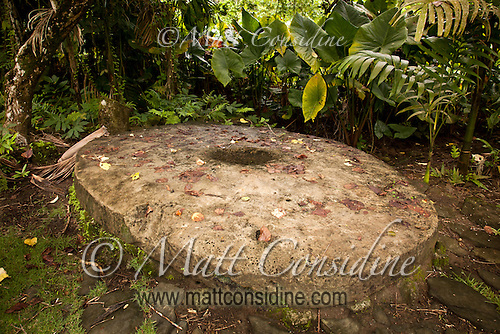 Very Large Stone Money, Yap Micronesia<br /> (Photo by Matt Considine - Images of Asia Collection) (Matt Considine)