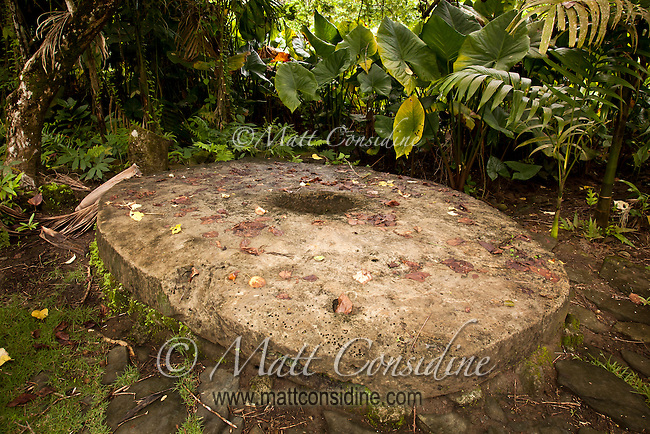 Very Large Stone Money, Yap Micronesia<br /> (Photo by Matt Considine - Images of Asia Collection)