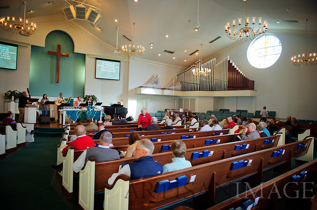 Service at Westminster Presbyterian Church for One Great Weekend of Service on Sunday November 6, 2011. (Chris English/Artisan Image © 2011)