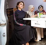 27.02.2018; Amman, Jordan: QUEEN RANIA<br />Chairperson of the Jordan River Foundation (JRF), launched the Mobile Emerging Technology Exhibition featuring a wide range of innovative and interactive activities designed to empower and motivate youth.<br />Mandatory Photo Credit: &copy;Royal Hashemite Court/NEWSPIX INTERNATIONAL<br /><br />IMMEDIATE CONFIRMATION OF USAGE REQUIRED:<br />Newspix International, 31 Chinnery Hill, Bishop's Stortford, ENGLAND CM23 3PS<br />Tel:+441279 324672  ; Fax: +441279656877<br />Mobile:  0777568 1153<br />e-mail: info@newspixinternational.co.uk<br />&ldquo;All Fees Payable To Newspix International&rdquo;