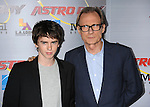 "HOLLYWOOD, CA. - October 19: Freddie Highmore and Bill Nighy arrive at the ""Astro Boy"" Los Angeles premiere at Grauman's Chinese Theatre on October 19, 2009 in Los Angeles, California."