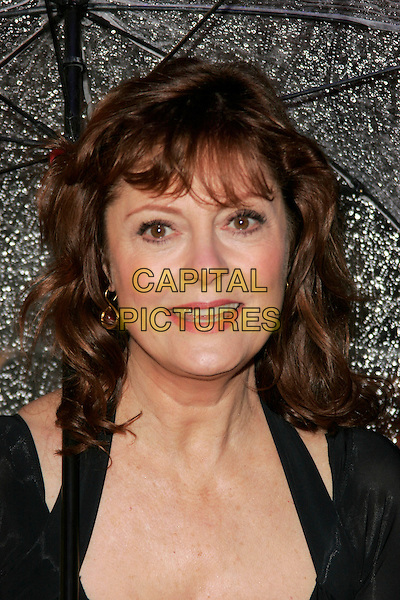 "SUSAN SARANDON.Arriving at the ""Speed Racer"" UK film premiere, Empire Leicester Square, London, England..April 28th 2008.headshot portrait .CAP/AH.©Adam Houghton/Capital Pictures."