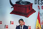 Madrid President Ignacio Gonzalez attends the 'Barco de Vapor' literature awards at the Casa de Correos in Madrid, Spain. April 21, 2015. (ALTERPHOTOS/Victor Blanco)