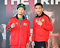 Boxing: Takuma Inoue and Petch Sor Chitpattana at signing ceremony of world title bout