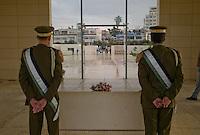 Ramallah, 24 November 2009.Five years after his death, Yasser Arafat, the late Palestinian president, lies under a sober limestone mausoleum, facing Jerusalem only 14km away...