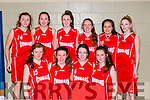 The Killarney Cougars team that played St Mary's in the U16 Girls Cup final in Killarney on Saturday front row l-r: Kate Maher, Kate Stack, Grace Cahillane, Ciara Griffin. Back row: Megan O'Donnell, Shelly Clifford, Erice mcGlynn, Anna O'Reilly, Olivia Wesolowska, Kelly Aherne