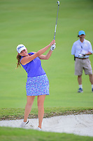 Dori Carter (USA) hits from the trap on 9 during round 2 of  the Volunteers of America Texas Shootout Presented by JTBC, at the Las Colinas Country Club in Irving, Texas, USA. 4/28/2017.<br /> Picture: Golffile | Ken Murray<br /> <br /> <br /> All photo usage must carry mandatory copyright credit (&copy; Golffile | Ken Murray)