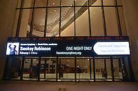 Smokey Robinson performs with the Houston Symphony at Jones Hall