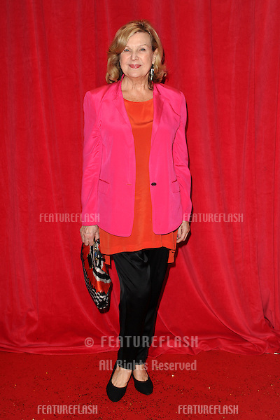 Ann Mitchell arriving for the 2014 British Soap Awards, at the Hackney Empire, London. 24/05/2014 Picture by: Steve Vas / Featureflash