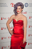 NEW YORK, NY - FEBRUARY 6: Kelly Osbourne in Zac Posen attends The Heart Truth Red Dress Collection 2013 Fashion Show on February 6, 2013 in New York City. © Diego Corredor/MediaPunch Inc. ... /NortePhoto