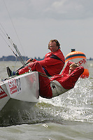 20th SPA Regatta - Medemblik.26-30 May 2004..Copyright free image for editorial use. Please credit Peter Bentley..Pieter Jongerius - NED